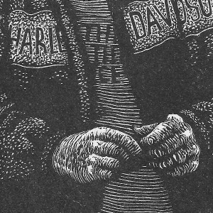 """Hilary Paynter """"Spider"""" - wood engraving"""