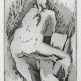Christina Bonnett - Nude Leaning