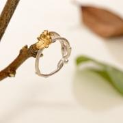 Razale Scott Olivier Gold Ivy & Entwined Ring