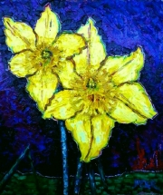 Richard Meyer, Two daffodils