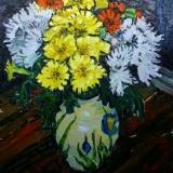 Richard Meyer, Flowers in a Paul Jackson vase,