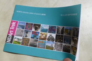 Art Trek printed brochure 2016